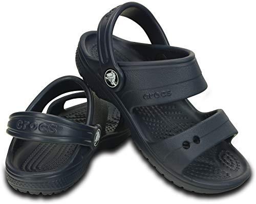 Sandália, Crocs, Classic Sandal Kids, Navy, 25, Criança Unissex