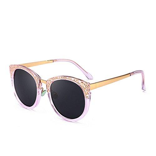 Gu Soleil UV Lunettes Creux C2 Les Femmes C4 pour Peggy de Protection Retro Élégant Couleur Design qfpdzzna1x
