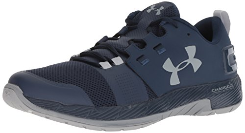 Under Armour Men's Commit TR X NM Sneaker, Academy (400)/Steel, 11