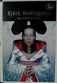 Bjork Homogenic Poster