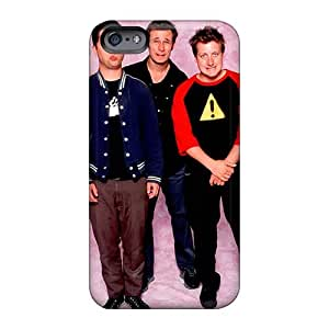 Shock Absorbent Hard Phone Cover For Iphone 6 With Custom High Resolution Green Day Band Image TimeaJoyce