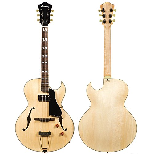 Arch Top Acoustic Electric Guitar (Eastman AR371CE Blonde Arch Top Cutaway with)