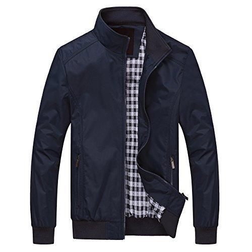 Mens Jacket Fall (ROMINTON Men's Autumn And Fall Casual Wear Long Sleeve Outdoor Jacket)