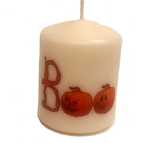 Halloween Pillar Candle-Moodlighting Halloween Decorations Let You Dress Up Your Décor With Candle Light For Any Fall Festival. Great for Family And Best Friend Gifts. Light Up Your Jack O Lantern Too