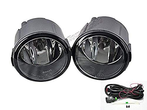 Quest Lamp - Remarkable Power FL7059 Fog Light Bumper Lamp Assembly w/H11 Fit For Infiniti EX FX QX G M/Nissan Cube Juke Murano Quest Rogue Included Swithc Wiring