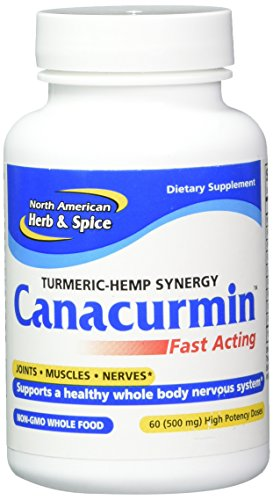 North American Herb & Spice Canacurmin Gels, 60 Count