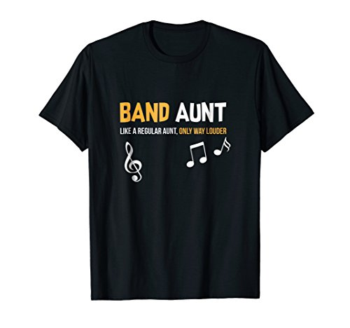 Band Aunt Shirt, Funny Marching Gift