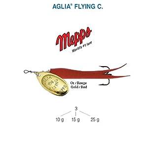 Mepps Aglia Flying C 10g, 15g, 25g, 5COLOURS,...