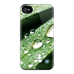 Brand New 6 Defender Cases For Iphone (water Drops Macro)