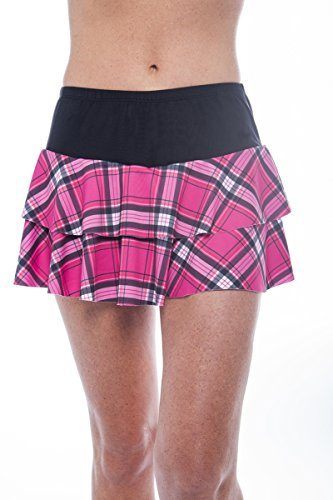 Show No Love Tennis Victory Collection: Double Tiered Skirt (size M)