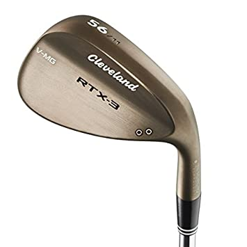 Cleveland Golf Men s RTX-3 VMG Mid Bounce Tour Wedge, Raw Heads
