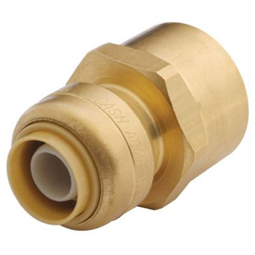 SharkBite U068LFA 1/2-Inch by 3/4-Inch FNPT SharkBite Lead Free Reducing Connector