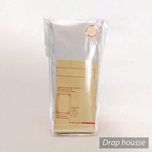 Linnea Drap Housse Relaxation uni 2x80x200 cm 100/% Coton Alto Calcium TR T/ête relevable Uniquement