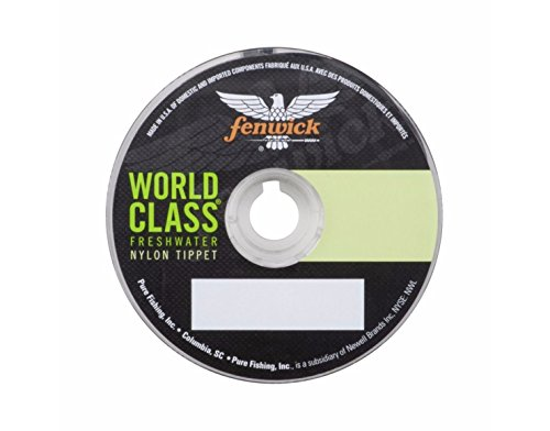 fenwick Wctf5X50 World Class Freshwater Fluor Tippet, Clear, 50 yd/ 5.41 lb