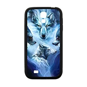 Custom Wolf Animal Plastic Hard Protective Skin Case for Samsung Galaxy S4