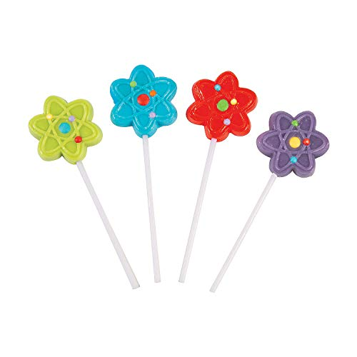 Fun Express 48 Count Science Party Frosted Suckers for Birthdays, Parties, Events -