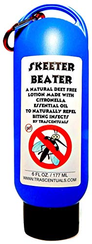 Natural Insect Repellent Lotion Skeeter Beater Uses Citronella Essential Oil as Active Ingredient