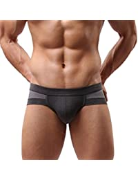 HOT Sale!Canserin Mens Sexy Cotton Soft boxers Briefs