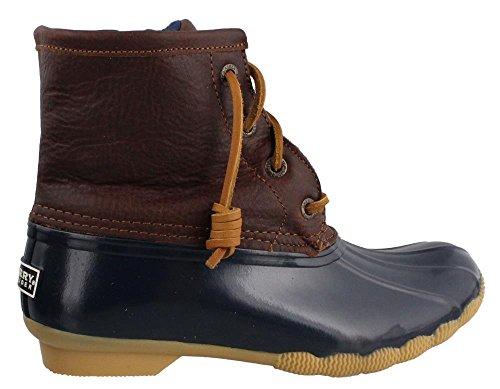 Sperry Saltwater TAN NAVY Boot Women's nzwpq8Z