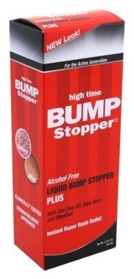 High Time Bump Stopper Plus, 2 ounces (Pack of 3) (Best Home Treatment For Razor Bumps)