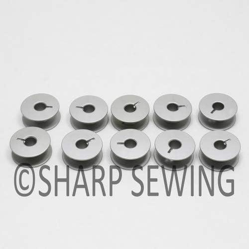 L Tamaño Aluminio bobinas para máquina de coser – Bernina Brother ...