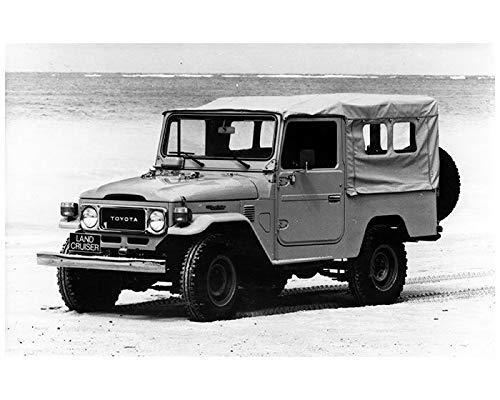 Toyota Land Cruiser Diesel >> Amazon Com 1985 Toyota Land Cruiser Bj46 Diesel Truck Factory Photo