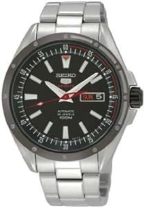Seiko SRP155K1 - Reloj analógico automático para hombre con correa de acero inoxidable, color plateado