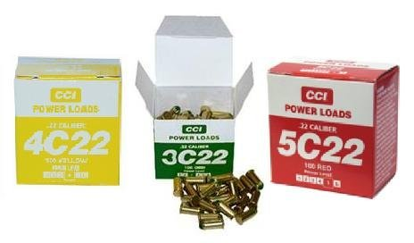 The Animazing 100 Medium (Yellow) Power Loads - For use with your Super-Pro Dummy Launcher