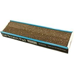 Bulk Buys Corrugated Cat Scratch Pad - Pack of 4