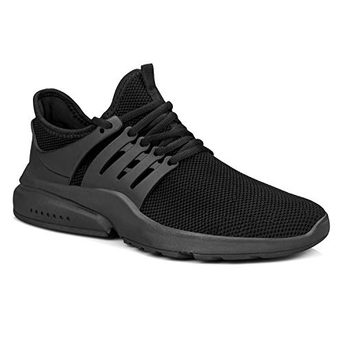 Feetmat Men's Non Slip Gym Sneakers Lightweight Breathable Athletic Running Walking Tennis Shoes 2