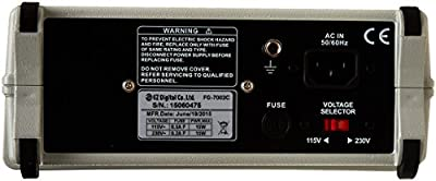 EZ Digital FG-7002C Sweep Function Generator with Built-In 50MHz Frequency Counter, 2MHz, Digital