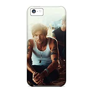 Iphone 5c HMS5035pGKz Custom Trendy Boys Like Girls Band Pictures Shock Absorption Hard Phone Covers -RitaSokul