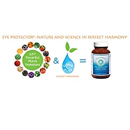 Pure Synergy Eye Protector with Lutein Astaxanthin Zeaxanthin Lycopene Proanthocyanidins 60 Caps by The Synergy Company