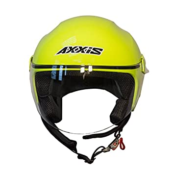 Casco Axxis SPORT CITY Solid (M, AMARILLO FLUOR)