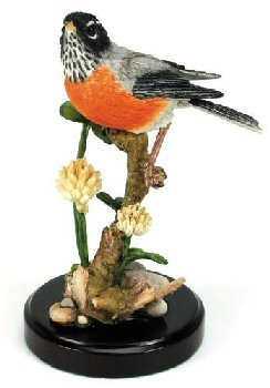 Retired Country Artists - American Robin on Clover - CA05504 - Wings of Flight