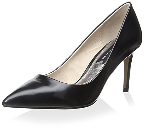 STEVEN by Steve Madden Women's Sharazz Pump, Black Box, 8 M US