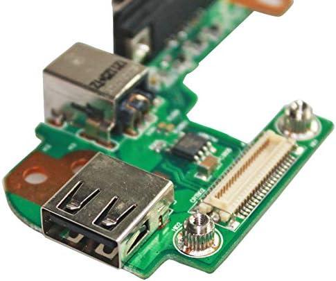 HP Compaq 6530S 6715S 6730S 6735S 6830S 6910P 8510P 8710P 8710W Series Vostro 3550 3555 DBParts AC DC Power Jack Connector Socket Charging Port for Dell Inspiron M4010 N4020 N4030 M5010 N5010 N5110