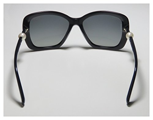 97c7433ad555  530 Chanel Black Sunglasses White Pearl Square A71074 5303h - Buy ...