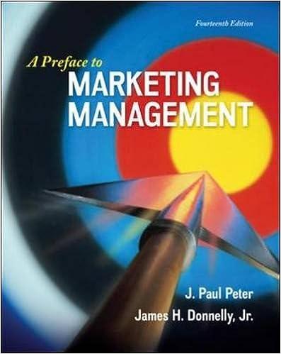 Preface Marketing Management Paul Peter