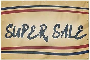 9x6 Super Sale CGSignLab Nostalgia Stripes Wind-Resistant Outdoor Mesh Vinyl Banner