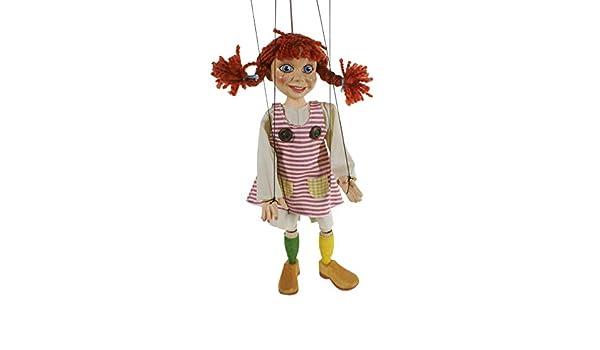 CAL FUSTER - Marioneta de Cuerda Pipi Calzaslargas. Medidas: 31 cm ...