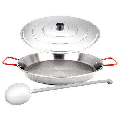 Carbon On Steel Paella Pan Set - Trio (3 Pcs.)