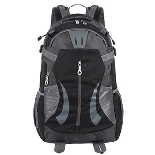 Skyflying 35L Outdoor Sport Hiking Daypacks Mountain Climbing Backpack Bagpack Travel Bag Black