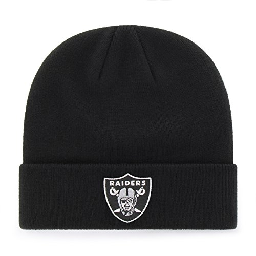 Oakland raiders beanie the best Amazon price in SaveMoney.es f10adc3a5