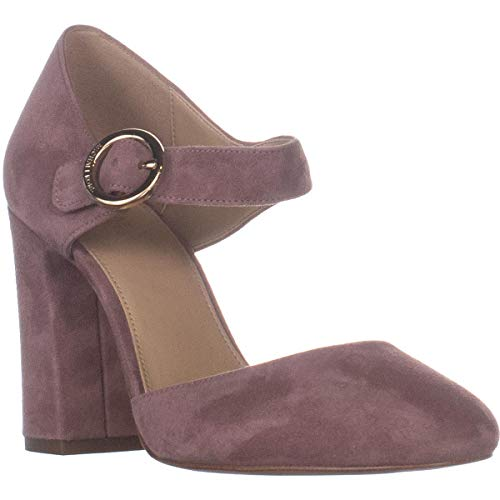 Michael Michael Kors Womens Alana Closed Toe Leather Round, Dusty Rose, Size 7.0