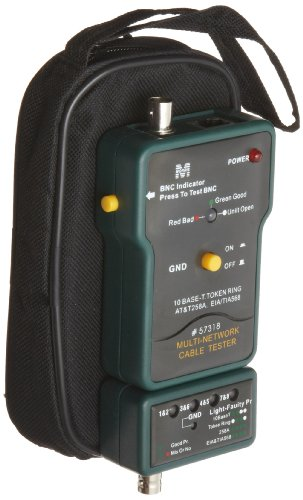 Morris Products 57318 Coax Network Cable Tester