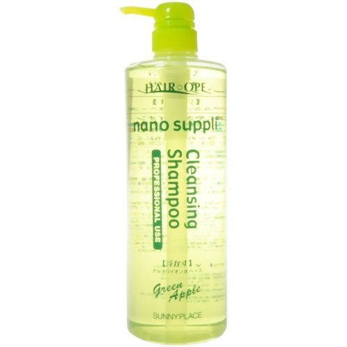 Price comparison product image SUNNYPLACE HAIR OPE nano suppli Cleansing Shampoo 1000ml Green Apple