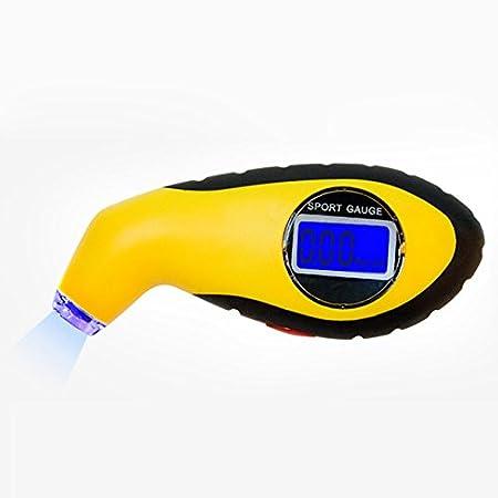 Tester Digitale LCD per Pneumatici di Auto e Moto manometro barometro Strumento diagnostico per Pneumatici BEESCLOVER