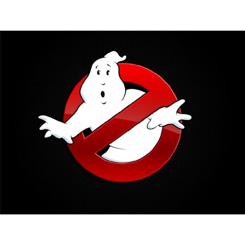 Ghost Busters Poster by Silk Printing # Size about (47cm x 35cm, 19inch x 14inch) # Unique Gift # 8689CA