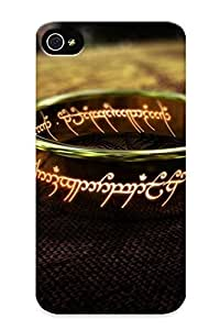 Podiumjiwrp Top Quality Rugged One Ring - The Lord Of The Rings Case Cover Deisgn For Iphone 4/4s For Lovers